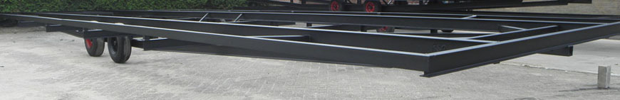Chassis voor mantelzorgwoning