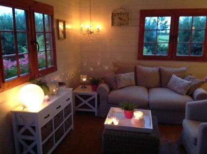 Leven in een houten huis mantelzorgwereld
